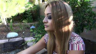 Natalia smoking