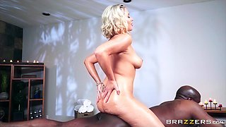 Jessica Ryan is excited about a massive black boner