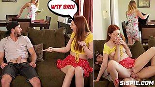Maya kendrick in redhead step sister