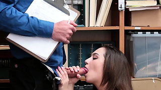 Amateur caught fucking school and jerking off by maid
