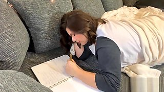 dear diary I wish my step brother would fuck me - sister creampied