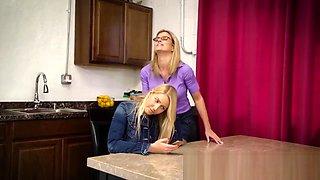 Lesbian Step Mom Fucks Hot Teen Step Daughter