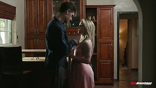 Spoiled blonde Kate Kennedy hooks up with stepsister's boyfriend