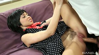 Cool retro sex clip starring awesome hottie Riley Reid