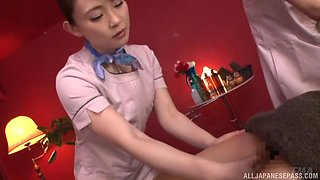 Hitomi Madoka and her friend need only one dick to get pleased