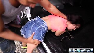 Sexy blonde teen hd Car problems in the middle of nowhere