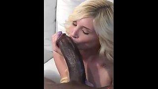 Blondes love monster cocks