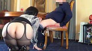 Sexy curvy secretary