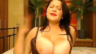 Sexy Big Titty MILF Smokes!
