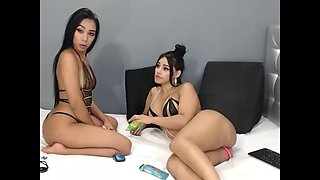 Slutty Step sisters having fun