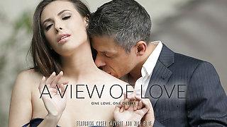 Casey Calvert & Mick Blue in A View Of Love Video