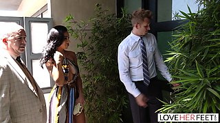 LoveHerFeet - Sneaky Cheating Foot Sex With The Realtor