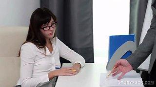 Russian Teacher Fucks His Student