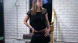 Amazing amateur Smoking, Solo Girl xxx movie