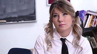 TeamSkeet - Hot School Girl Dicked Down By Teacher