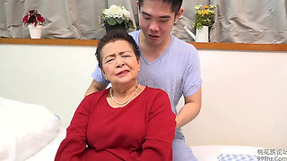 Sexy Asian Granny Ogasahara Sachiko fucked hard