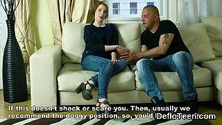 Shy Mila Lukoshkina talks about her virginity