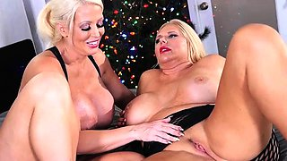 Alura Jenson Gives Holiday Orgasms to Karen Fisher