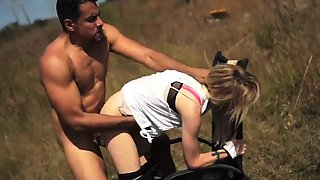 Bdsm milking machine Helpless teenager Lily Dixon is lost an