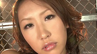 Japanese sex machine ready for some wild pussy wrecking with her bod