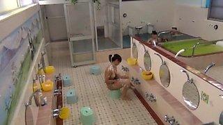 Exotic Japanese chick in Best Hidden Cams JAV video