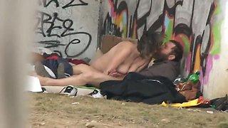 Life of &#039wonderful&#039 homeless people