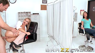 Doctors Adventure - Bree Olson Mark Ashley - Care to Donate Some Fluid - Brazzers