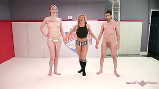 Tall goddess lux lives crushes little jay west