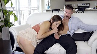 Busty step daughter fucked better than her mom