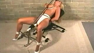BDSM bondage and machine fucking