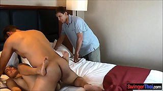 Amateur Asian wife cuckolds her very boring husband