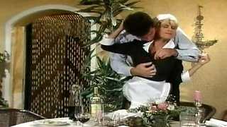 German vintage maid get rough sex
