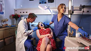 Zara Durose wants to feel a handsome dentist's big boner