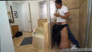 Naughty america teen and tattoo toy ride Lexy Bandera gets her pipes cleaned by a