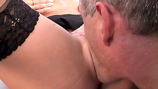 Secretery Black Stockings Kate Jones Hard Fucking