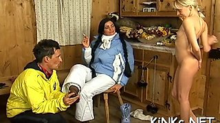 babe makes slave waiter on her clip film 1