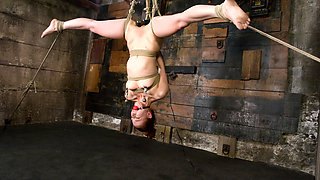 Sabrina Sparx in The Cute, Adorable, Flexible Sabrina Sparx Is Back, And Gracing HogTied With Her Amazing Body. - HogTied