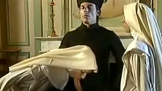 Retro lesbo nun fisting video from my dad's porn collection