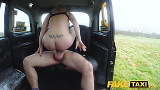 Fake Taxi Busty naughty nurse pisses and rough fucking